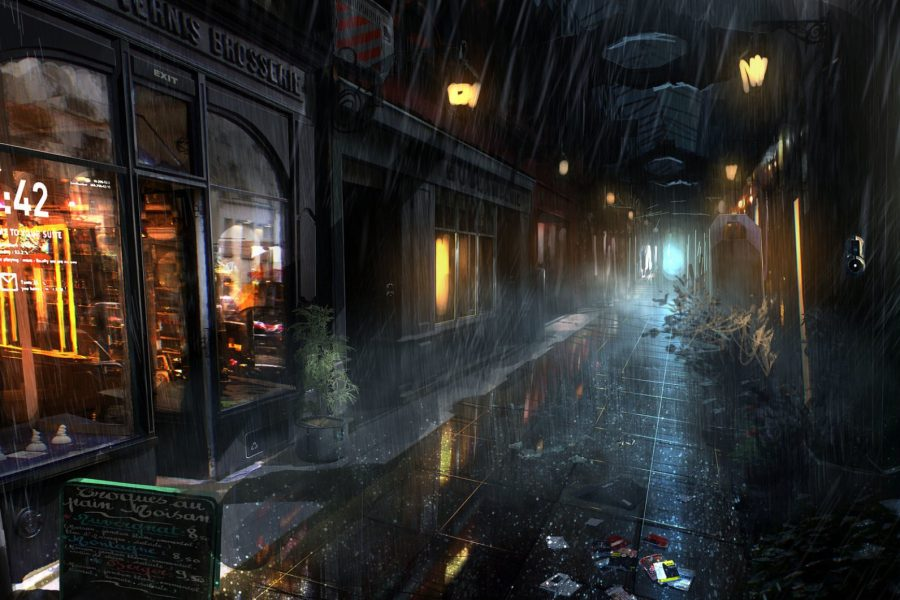 A bleak look at a High Street in the future