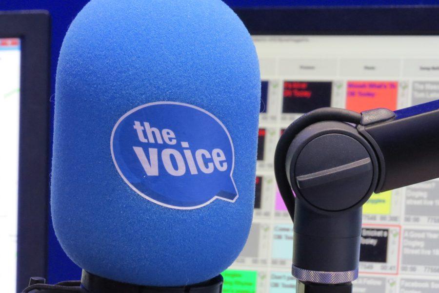 Radio Interview at The Voice FM's New Studio